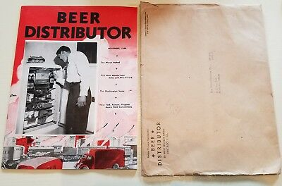 1948 BEER DISTRIBUTOR Magazine - November- Advertising Ads Beer Fox Prior Hamm's