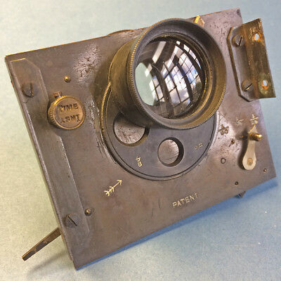 """5"""" Brass_Manual_Shutter_Unusual_One -Off_Used."""