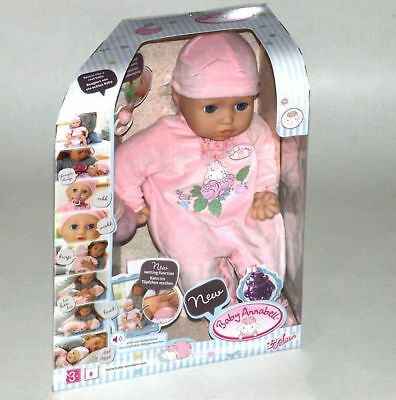Baby Annabell ® / Puppe 43cm mit Funktion Zapf Creation Babypuppe