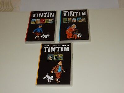 Herge, Adventures of TINTIN DVD collection all 21 adventures . 840 mins . region