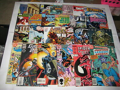 Comic Books Lot Of 25: Marvel, Dc, Other  (C25)