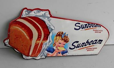 MISS SUNBEAM Bread Loaf Metal Sign  Door Bar modern retro