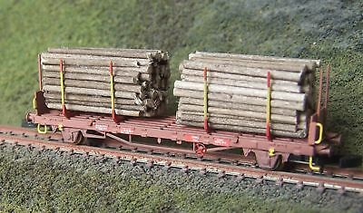 FR Z-scale 46.820 Swedish Timber Car class Kbps-X of the TAGAB Sweden