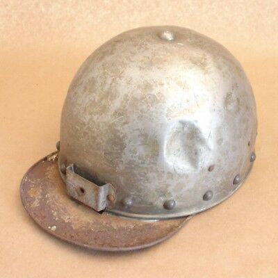Antique Mining Helmet Hat by Stern Sheet Metal Works,Phila,PA No Miner's Lamp