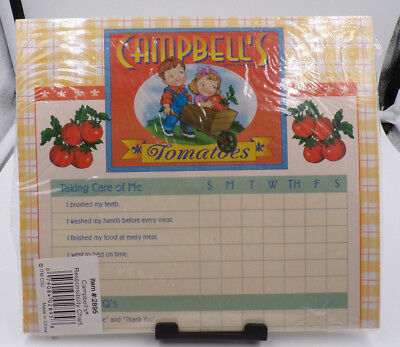 Campbell's ~ Campbell Kids ~ Dry Erase ~ Responsibility Chart ~ New!