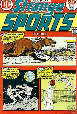 STRANGE SPORTS lot #2 #3 #5 (1973-1974) DC Comics VG+ ~