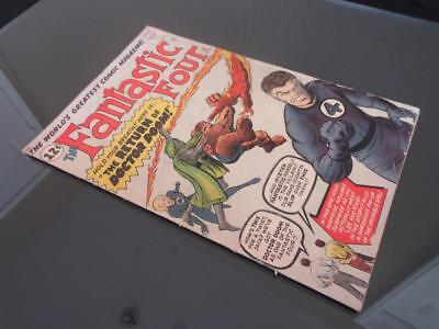 Fantastic Four #10 MARVEL 1962 - Jack Kirby & Stan Lee app(s) in story, Dr. Doom