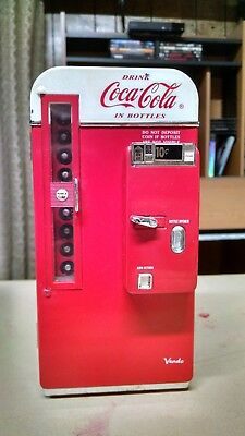 Coke Coca Cola Musical Vending Machine Bank 1994