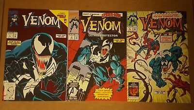Venom Lethal Protector #1, 2, And 5 (Lot Of 3) Nm