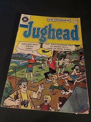 Archie World Editions HÉritage Canada #74 In French Free Shipping Other Bronze Age Comics