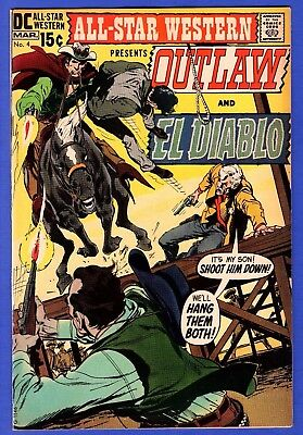 All Star Western #4 Nm- 9.2 One Owner File Copy Neal Adams Cover
