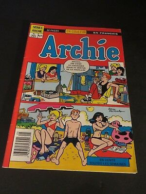 Other Bronze Age Comics Collectibles Archie World Editions HÉritage Canada #74 In French Free Shipping