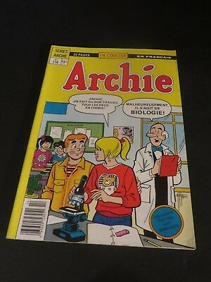 Beautiful 1973 Archie Editions HÉritage Canada Jughead #18 In French Free Shipping Bronze Age (1970-83)