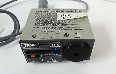 Karl Storz Endoscopy 481C Miniature Light Source