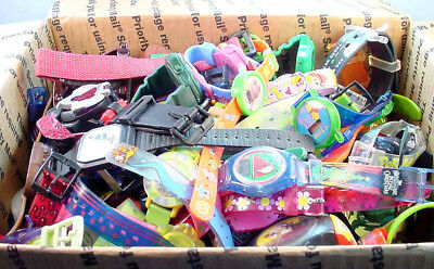 5 lb 1 oz LOT OF CHARACTER WRISTWATCHES MAY NEED BATTERIES, REPAIR OR FOR PARTS