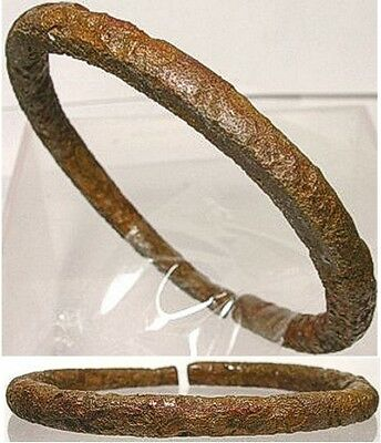Genuine Ancient Roman Judaea Phoenician Palestine Israel Bronze Bangle 100AD