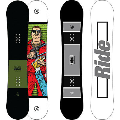 Ride Crook Snowboard all mountain freestyle rocker Men's 2017-2018 NEW