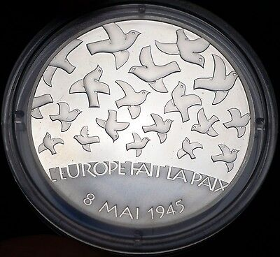 France 2005 1.5 Euro KM# 1441 WWII 90% Silver Coin Gem Proof 50K Minted