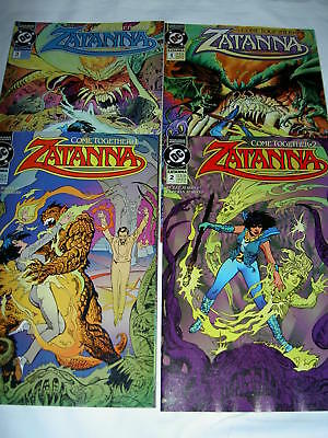 ZATANNA : COMPLETE 4 ISSUE 1993 DC SERIES by MARRS & MAROTO