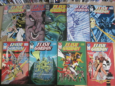 FLASH GORDON : COMPLETE, CLASSIC 9 ISSUE 1988 DC SERIES by JURGENS & PATTERSON