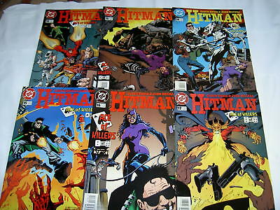 """HITMAN 15-20, """"ACE of KILLERS"""". COMPLETE 6 ISSUE STORY ARC by ENNIS & McREA.1997"""
