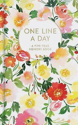 Floral One Line a Day: A Five-Year Memory Book by Yao Cheng Free Shipping!