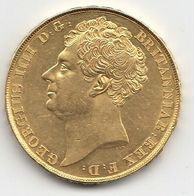 1823 George Iv Gold Two Pound Coin  / Double Sovereign