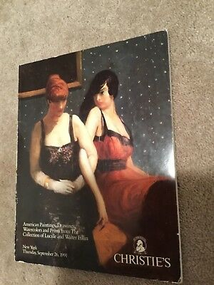 Sotheby's:American Paintings,Drawings,Watercolors  LUCILLE & WALTER FILLIN -1991