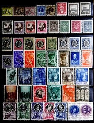Vatican City: 1929-49 Stamp Collection Many Unused