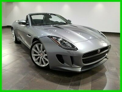 2015 Jaguar F-Type Convertible 2015 Convertible Used Certified 3L V6 24V Automatic RWD Premium