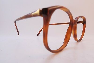 Vintage Persol RATTI acetate eyeglasses frames men's medium made in Italy EXC