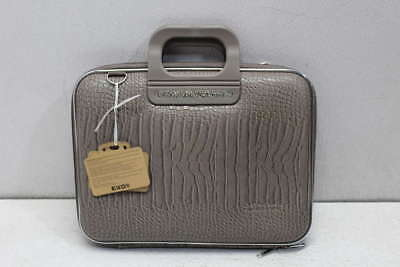 "Bombata 13"" Laptop Briefcase Siena Cocco Taupe"