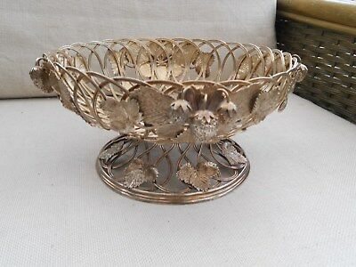 Silver Plate Fruit Bowl.