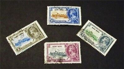 nystamps British Hong Kong Stamp # 147 - 150 Used