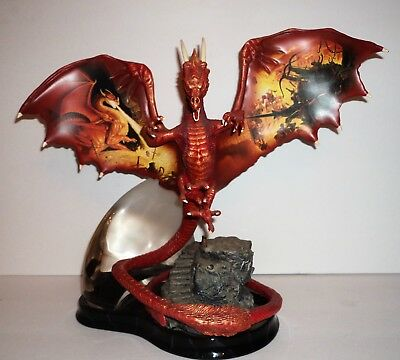 CONQUEROR'S SPELL Statue REALM OF THE DRAGON Limited Edition 2004 Damaged