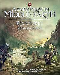 D&D 5th edition RPG: Adventures in Middle-Earth PRESALE Rivendell Region Guide N