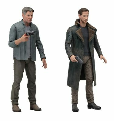 "Blade Runner 2049 7"" Action Figures Series 1 Set of 2 Deckard Officer K 161NE30"