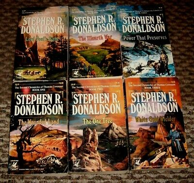 All 6 books in The Chronicles of Thomas Covenant by Stephen Donaldson