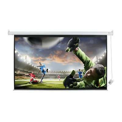 Homegear 120in 16:9 HD/3D Electric Motorised Projector Screen And Remote Control