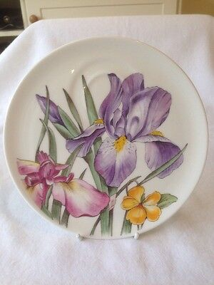 Roy Kirkham Spring Flowers Party Plate. Great Colours And Excellent Condition.