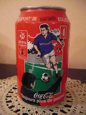 Lattina piena Coca Cola Euro 1996  n. 1 Serie limitata (scaduta Jun 97) Cl 33