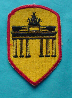 Us Army Berlin District Sleeve Occupation Patch