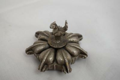 Vintage/Antique Metal Pill Box With Cockerel