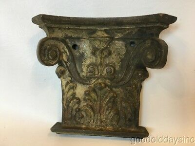 Antique Bronze Capital Architectural Salvage from Chicago