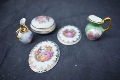 Collection Of 5 Limoges Items