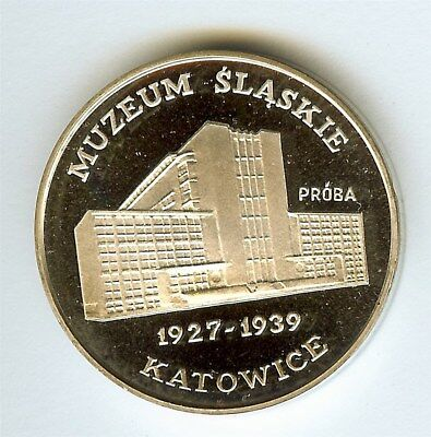 Poland 1987 Silver Proba 1000 Zlotych  Pr-563, Museum  Perfect Proof Dcam