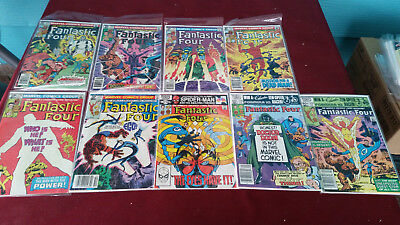 Marvel Comics Fantastic Four Lot of (9) #230 Thru Issues #239- Missing #236-
