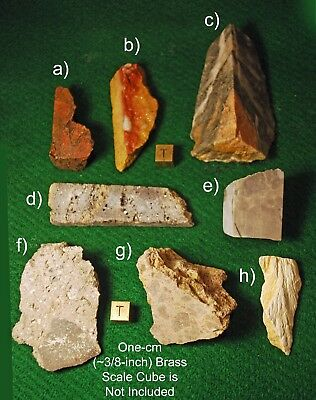 Eight Authentic IMPACTITES from Meteorite, Comet, & Asteroid Impacts