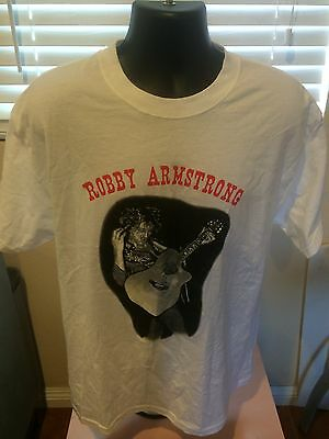Bobby Armstrong T-Shirt Size L Smoking & Drinkin