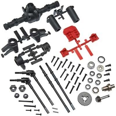 Axial AX31438 AR44 Locked Axle Set Front/Rear Complete SCX10 II